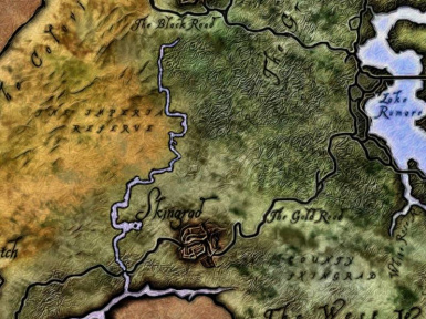 Dynamic map at oblivion nexus mods and community elven map style river ethe gumiabroncs Choice Image