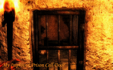 After 7 - Prison Cell Door