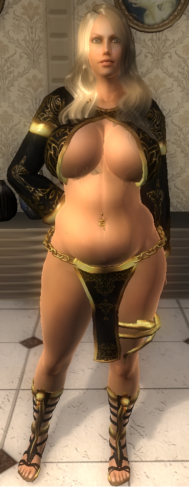 Sorceress Outfit - Chubby Version