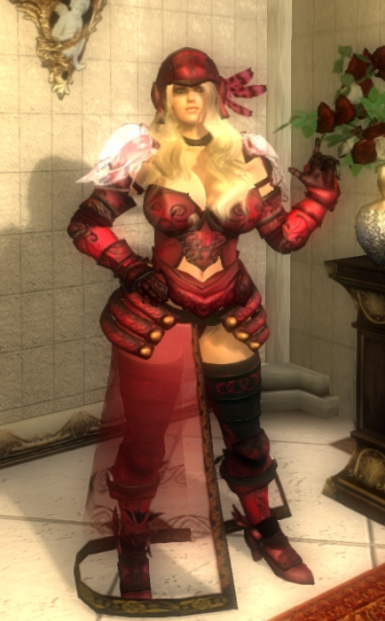 Red Rose Armor