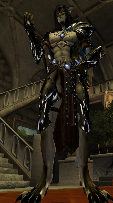 Jojjos Silverlight For Wolven Anthros MALE ONLY