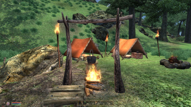 Campfire and Cooking Site
