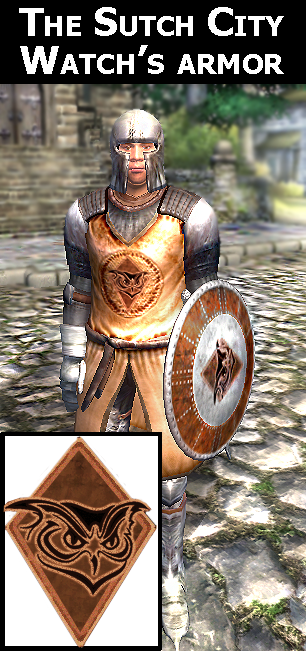 Sutch City Watch armor
