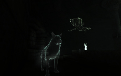 As a Ghost Wolf in Sancre Tor