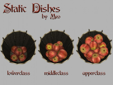 Meos Static Dishes - Resource