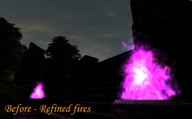 Arcane fire - Refined fires