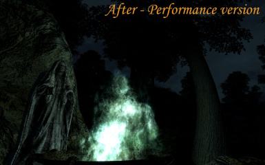 Ghost dungeon fire - Performance version