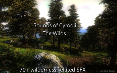 Sounds of Cyrodiil - The Wilds