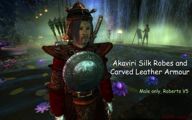 RGMs Carved Leather Armour And Akaviri Silk Robes Male only