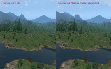 Landscape comparison II