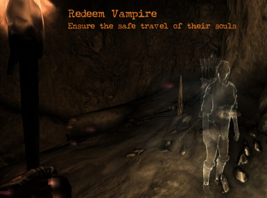 Redeem the Souls of Vampires