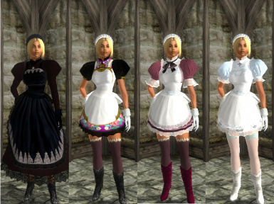 Retma Maid Armor for BAB Mini-compilation