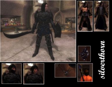 Silverthorn Armor amd Robes Male