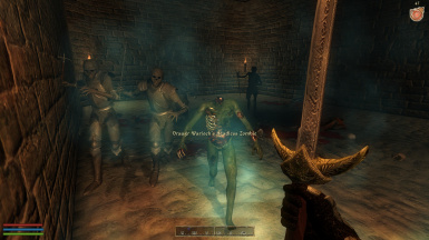 Draugr inside one of the Outposts