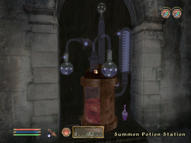 Summon Potion Station