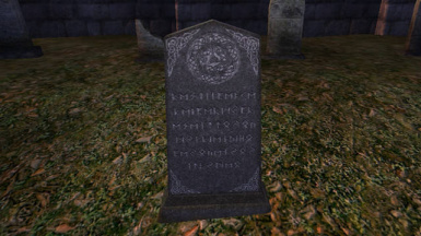 Optional new headstone from resource made by MEO