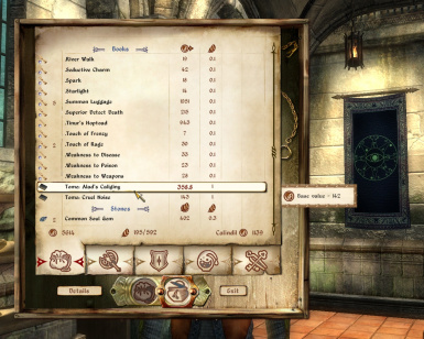 Spell tomes from vendors
