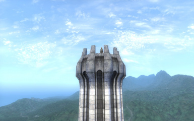 White Gold Tower Mod