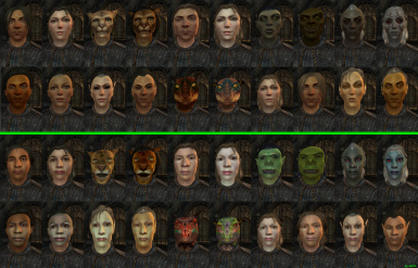 All races compared