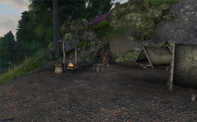Campfires in campsites fix
