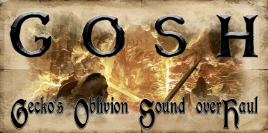 GOSH - Gecko's Oblivion Sound overHaul