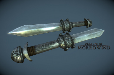 Weapons Of Morrowind