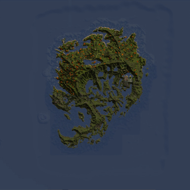 Shivering Isles Map HD