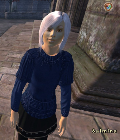 The baker's daughter in Skingrad