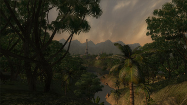 Most is Endless Jungle - A lore based Environmental Overhaul