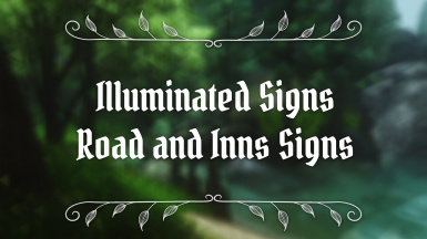 Illuminated Signs - Road and Inns Signs