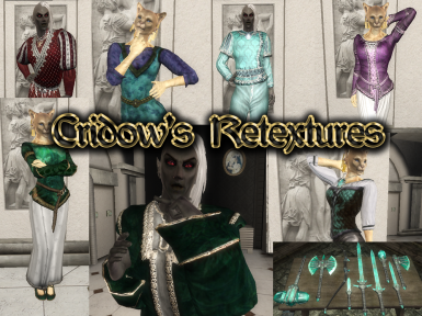 Cridow's Retextures for Clothes and Armors