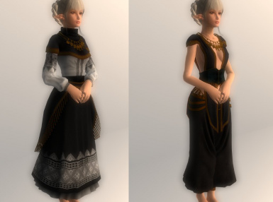 Clothes of Priestess