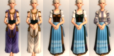 Folk Dress Collection