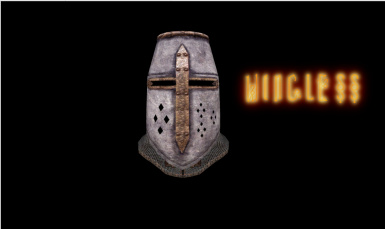 Wingless Crusader Helmet