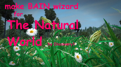 make BAIN wizard for The Natural World