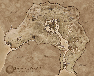 More detailed World Map