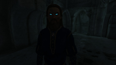 Dwemer eye glow in action