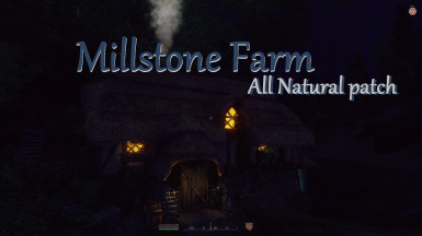 Millstone Farm All Natural patch