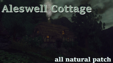Aleswell Cottage All Natural patch