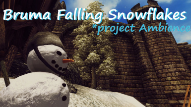 Falling Snowflakes Bruma - Project Ambience