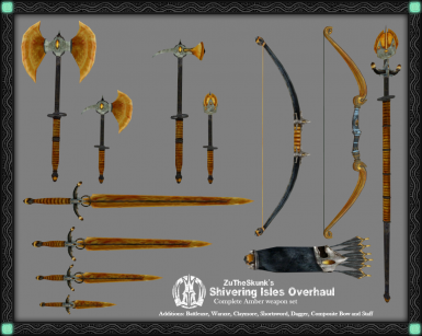 Full Amber Weapon Set