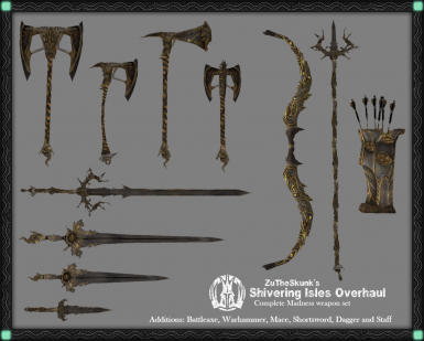 Full Madness Weapon Set