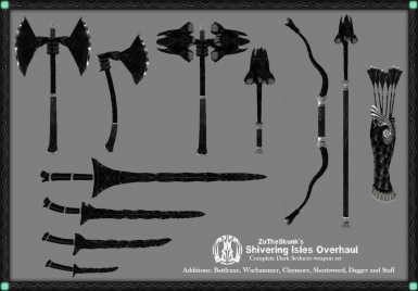 Full Dark Seducer Weapon Set