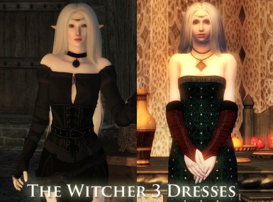 The Witcher 3 dresses  BBB and RHH Support