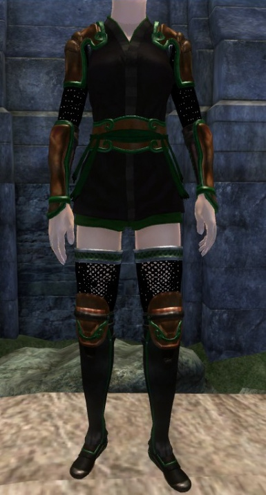 Woodland colours for Lotus armor by Fizz