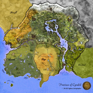 Cyrodiil Elven Map Expansion (Edition 2016)