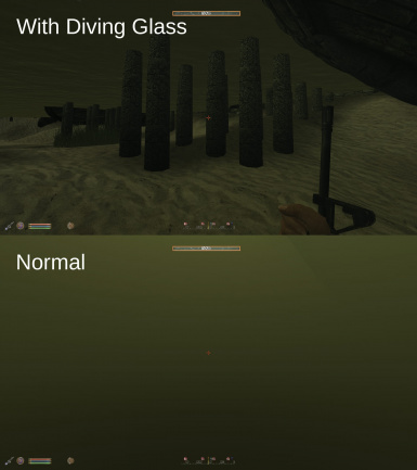 Diving Glass