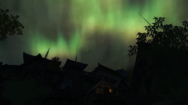 Realistic Aurora in motion