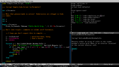 coda-mode for Emacs