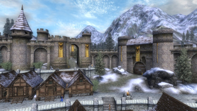 Enhanced Cyrodiil - Cities
